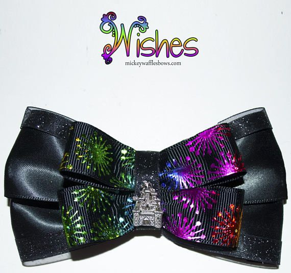 Hey, I found this really awesome Etsy listing at https://www.etsy.com/listing/541793301/wishes-fireworks-hair-bow