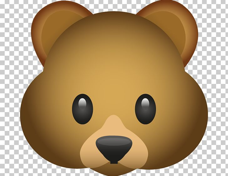 Bear Emoji Emoticon Png Animals Bear Carnivoran Cartoon Clip Art Bear Emoji Emoticon Emoji