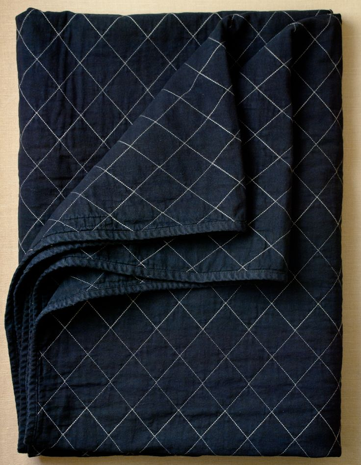 Quilted Throws from Utility Canvas: These Quilted Throws from Utility Canvas are surprisingly soft, wonderfully durable and definitely beautiful! Fold one over the back of your couch or spread it on top of your bed. Use another at the beach or in the park, and always have one handy for chilly nights under the stars or in front of the tube! These Quilted Throws are companions for life!