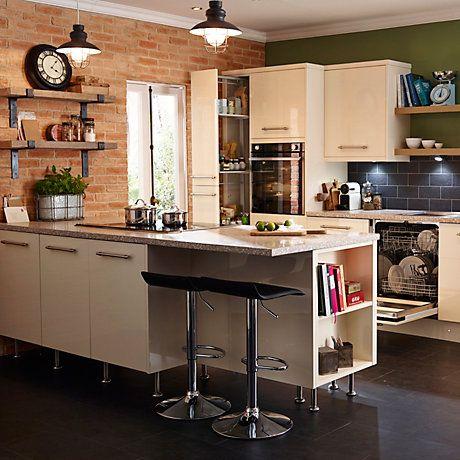Contemporary Kitchen | Kitchen | Rooms | DIY at B&Q