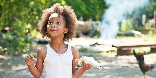 Quvenzhané Wallis som Hushpuppy i Beasts of the Southern Wild