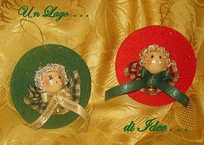 Lo Chalet delle Fate: A Natale ...Decorazioni in Feltro!!!!!!