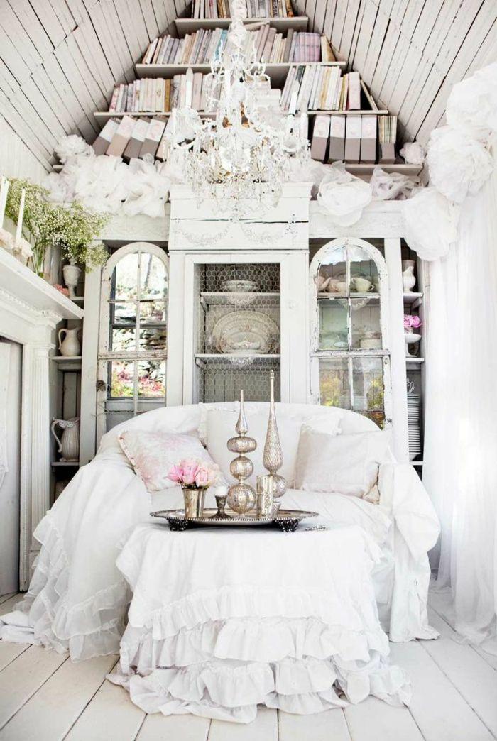 Ein kleines Sofa für eine kleine Wohnung Wohnzimmer Ideen