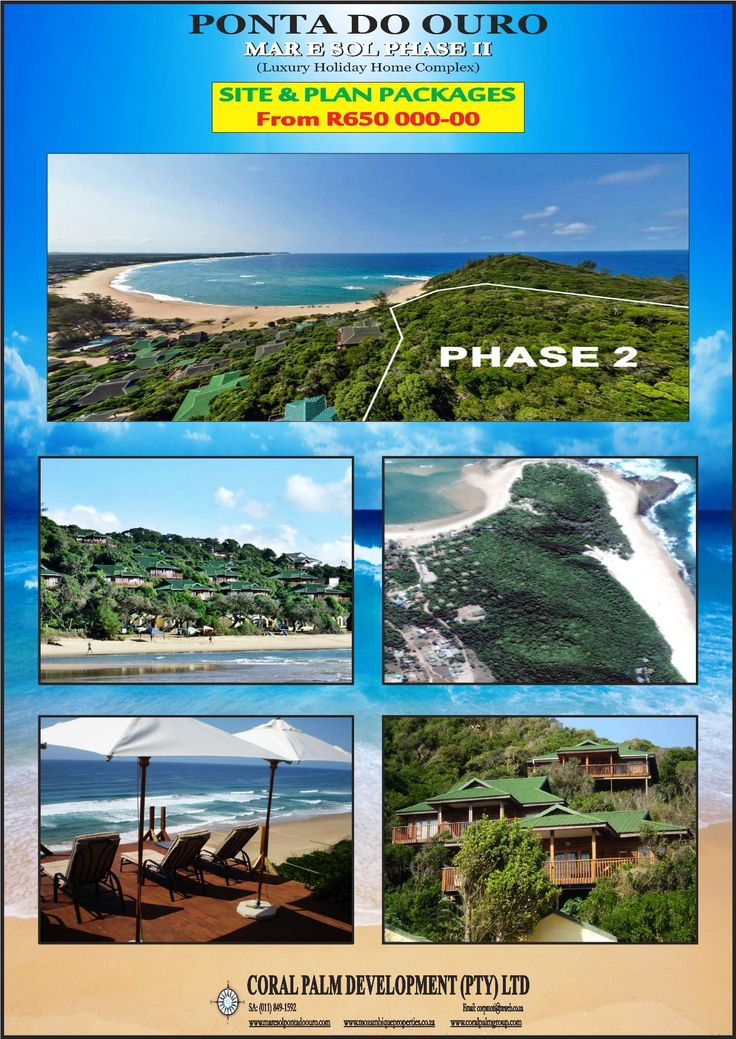 Houses for Sale in Ponta Do Ouro - Mozambique