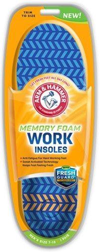 arm & hammer? memory foam insoles work 1 pr Case of 24