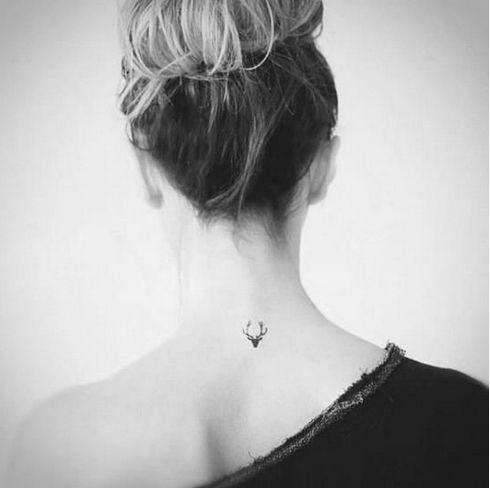 Antler tattoo