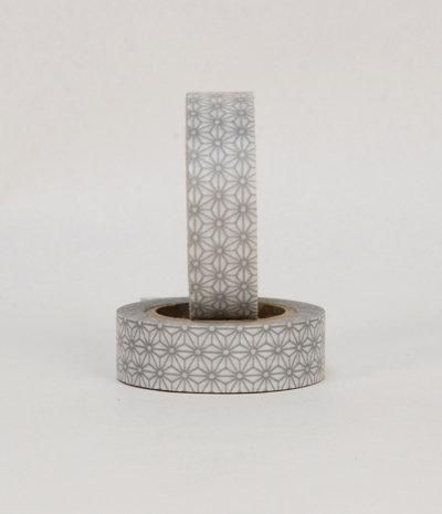 Nation State — MT Japanese Masking Tape - Silver Star