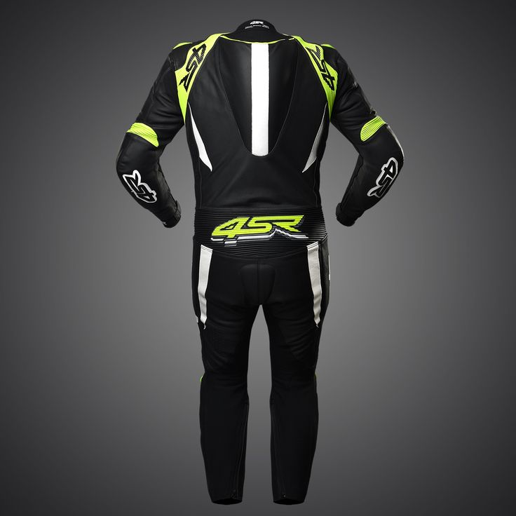 4SR one-piece suit Racing Doctor's Yellow #racingsuit #leathersuit #leathers #1pc