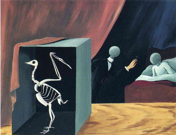 René Magritte - The Sensational News, 1926