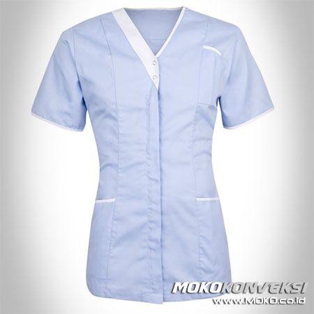SERAGAM PERAWAT, MEDIS & PAKAIAN RUMAH SAKIT. Model Baju Perawat Terbaru. Moko Konveksi - Supplier Baju Tangan Pertama.