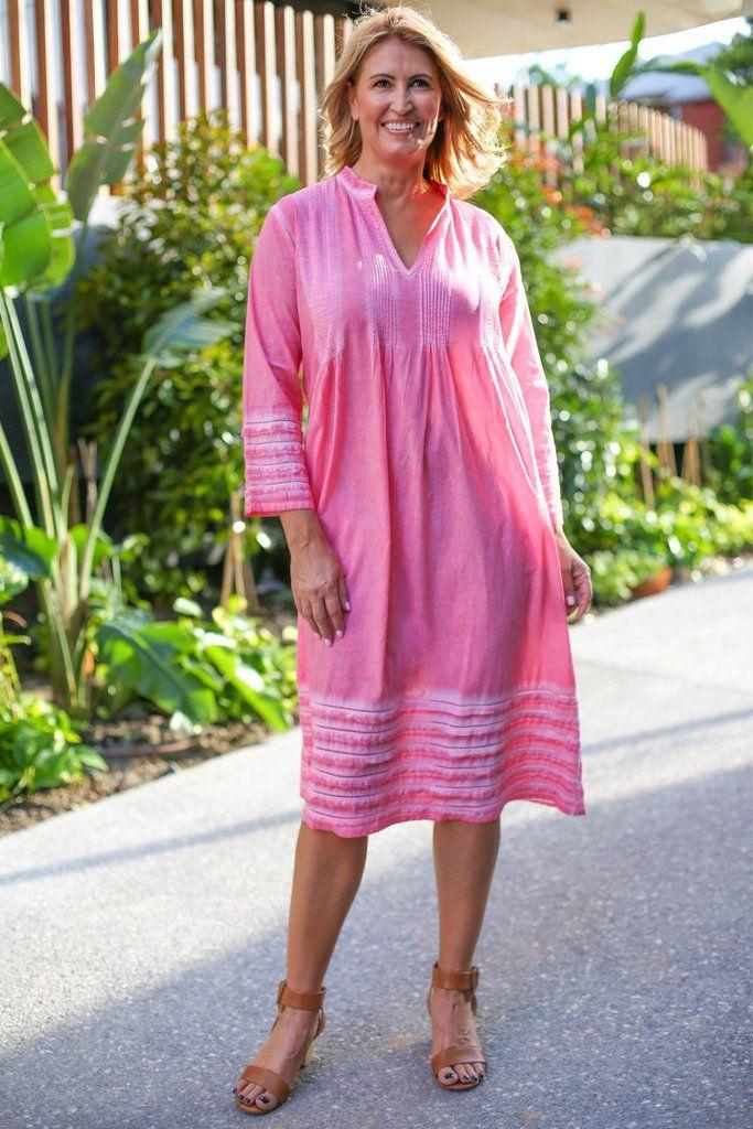 Milana Dress in Pink