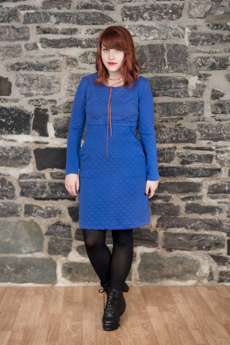 Jeanne - bleue – Coeur de Loup