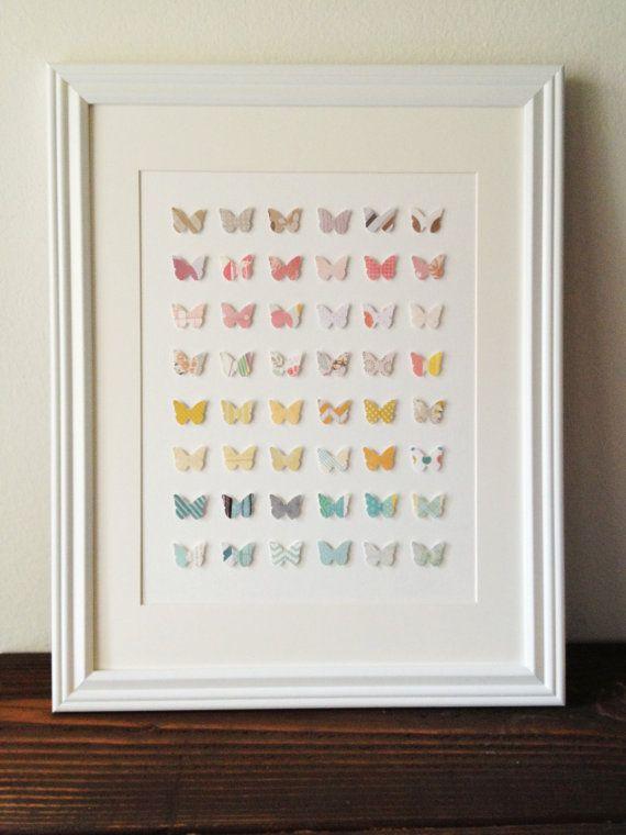 Umbra Loft Wall Decor : D butterfly wall art in by