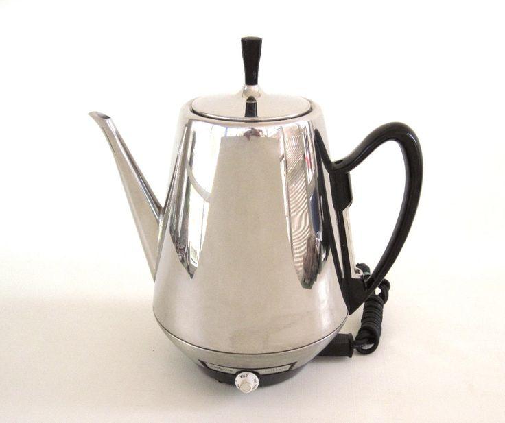 New to LaurasLastDitch on Etsy: Sunbeam Coffee Percolator AP76 Electric Coffeepot Vintage Chrome Coffeemaster Small Kitchen Appliances (as-is) (52.99 USD)