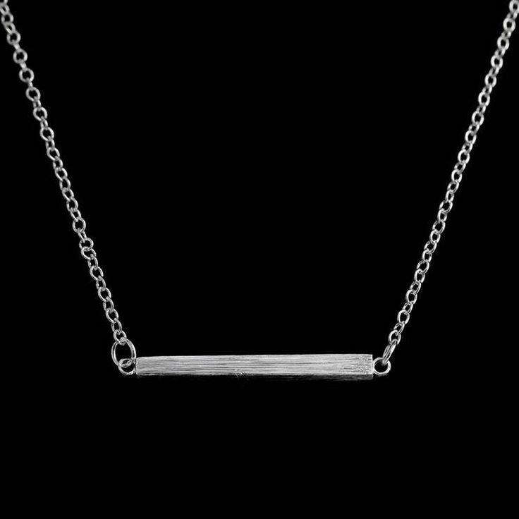 Balance Necklace, Balance Bar, Dainty Necklace, Minimalist, Gift Ideas, Gifts for Her, Simple, Gifts, Inspire, Simple Necklace, Silver Bar by MissFitBoutiqueCA on Etsy https://www.etsy.com/ca/listing/562787326/balance-necklace-balance-bar-dainty