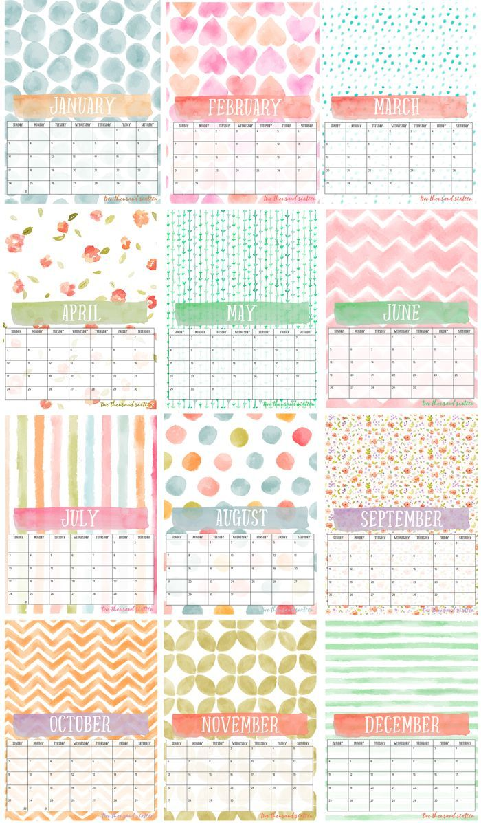 Calendar Planner Printable Sia : Free printable photo calendar and diy display board