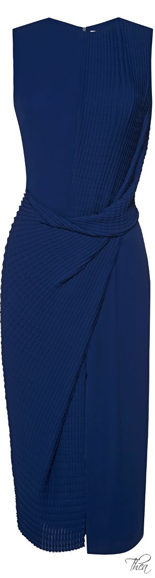 Love love love it. This Pleat Dress. Will make you look slender and taller.