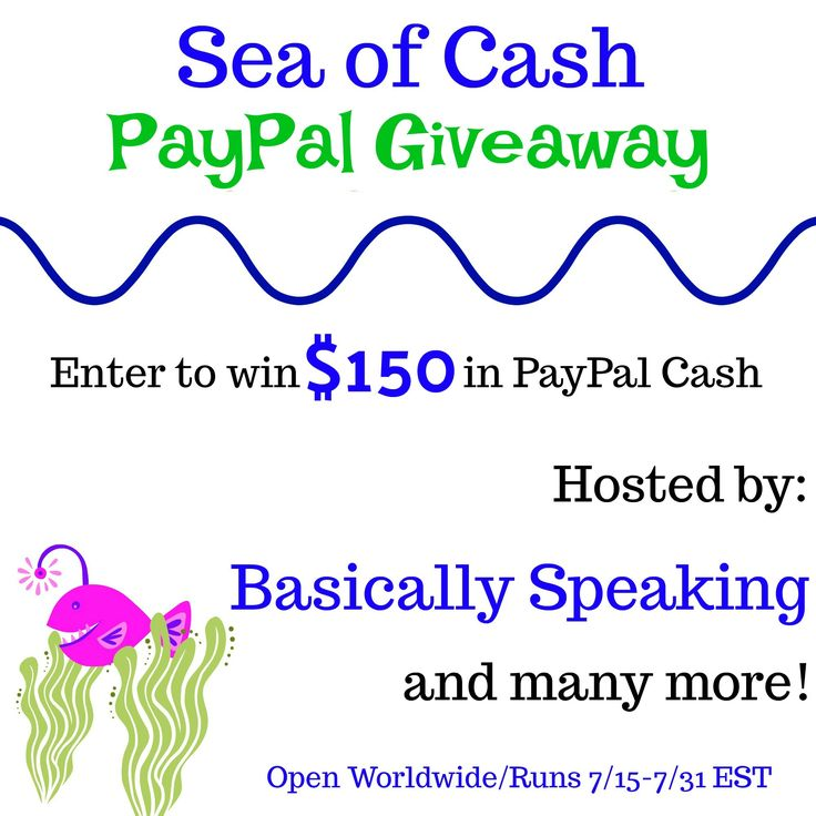 Enter to win $150 in PayPal cash. Open to Worldwide. What would you do with $150 in Paypal cash? Enter today for your chance!