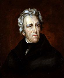 Andrew Jackson, 7th President of the United States and the city's namesake