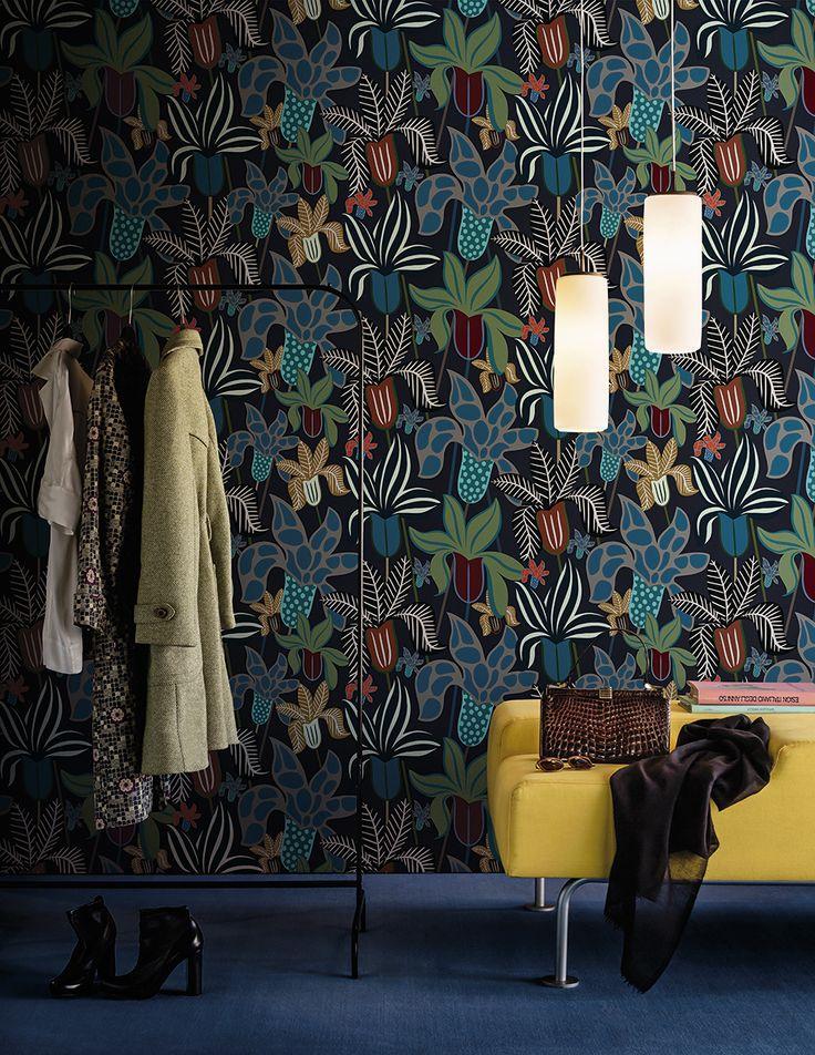 The Garden - Wall&decò wallpaper collection 2016 design Lorenzo De Grandis