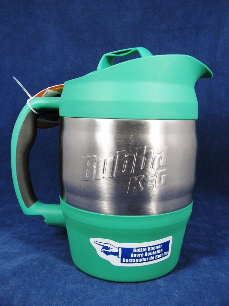 BUBBA KEG Sports JUG Thermos Pitcher Stainless Plastic Insulated Green 80 Oz #BubbaKeg