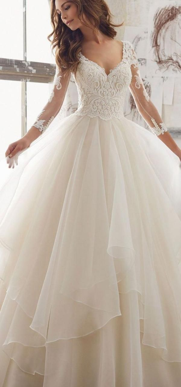Elegant long wedding dresses for the modern women of today. Every bride deserves…