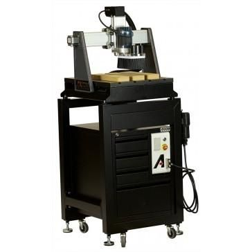 This package combines the Axiom AutoRoute 1 Hobby CNC, Stand, and Toolbox all in one convenient package!