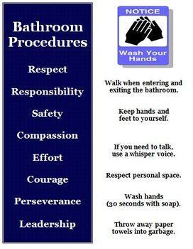 School Bathroom Rules 51 best classroom management images on pinterest   class