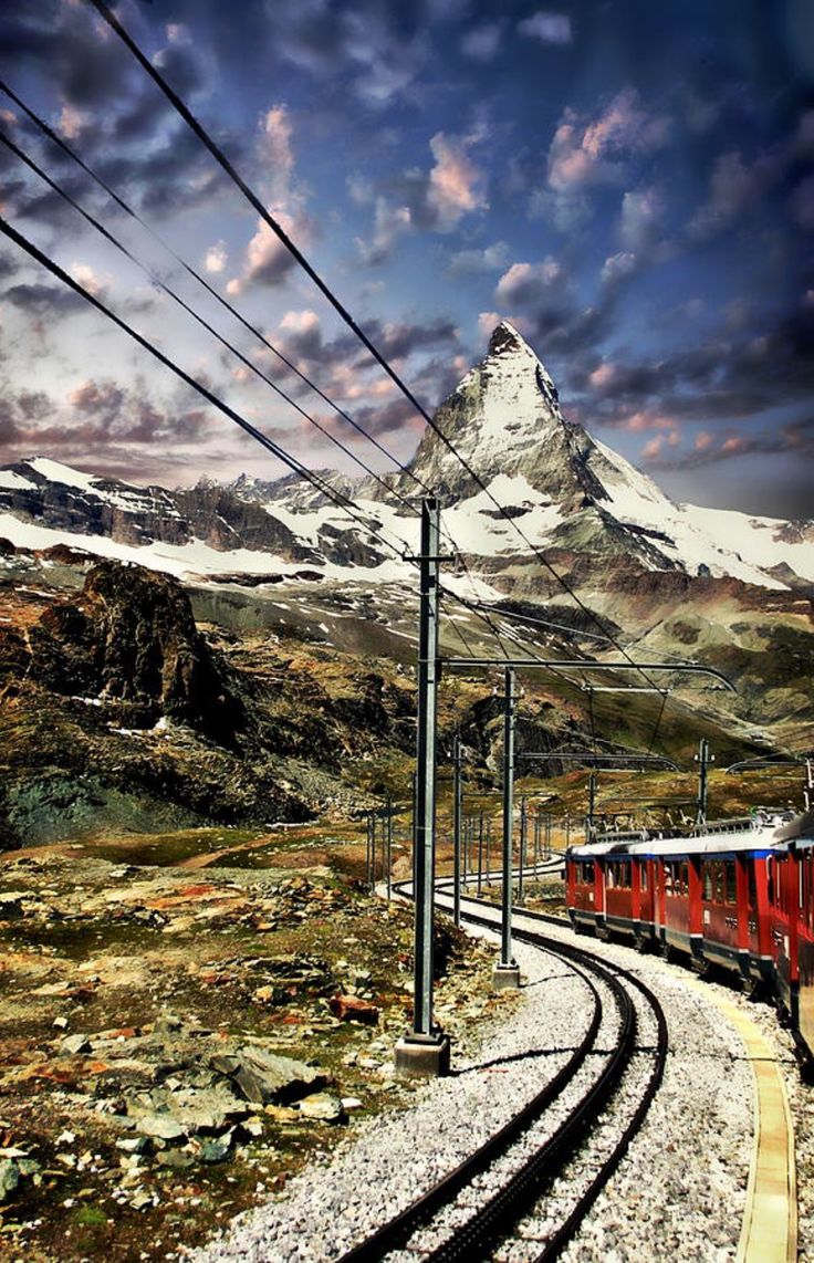 Matterhorn Panorama is a photograph by Anthony Dezenzio. Source fineartamerica.com