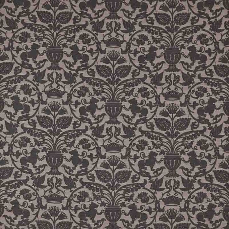 Warwick Fabrics : SARAFINA, Colour SLATE