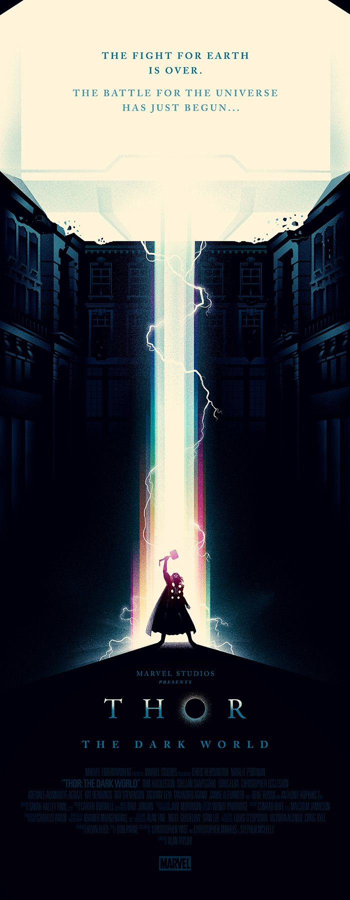 Thor - The Dark World. Just wait until Ragnarok happens...things are going to get crazy!