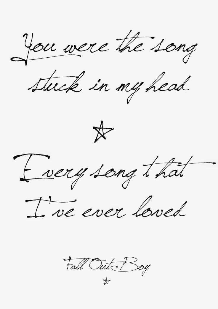 "This is the lyric I want for my next tat. ""When you can get what you want but it's never enough."" Fall Out Boy - American Beauty/American Psycho"