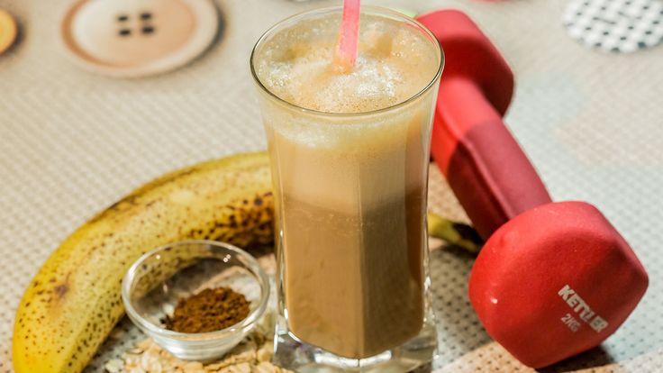 Frullato Proteico con Avena, Banana e Orzo