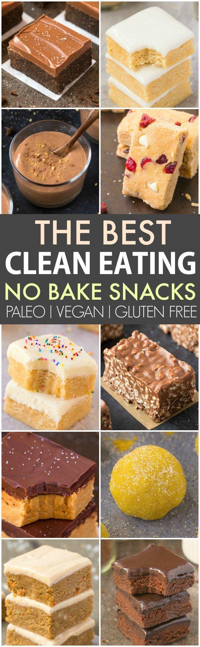 Sauberes Essen, gesunde Snacks ohne Backen (V, GF, P, DF) – Schnell, einfach und …