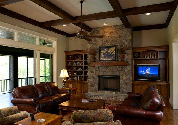 Best 25 craftsman living rooms ideas on pinterest - Craftsman living room decorating ideas ...