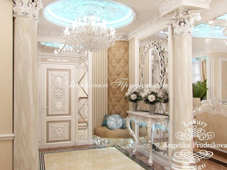 Интерьер квартиры в стиле Ар-Деко в ЖК Доминион - фото