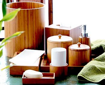 High Quality Bamboo Bath Sets