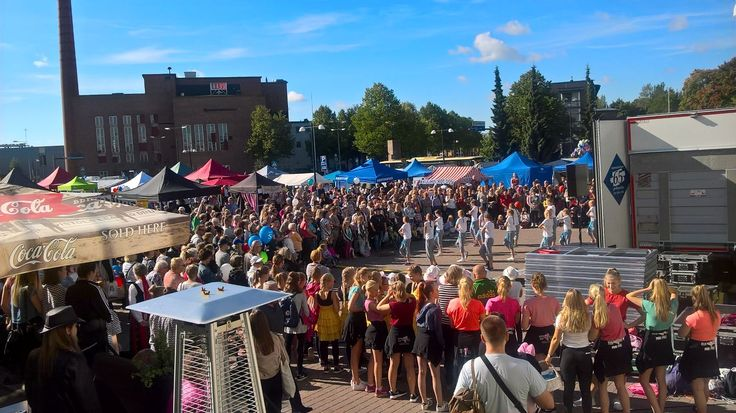 Asematapahtuma 2016 #riihimäki Kuva: Anna Vesén