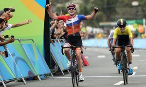 Cycling - Womens Road Race - Anna van der Breggen, Holland - Rio Olympics 2016