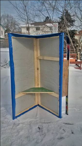 Wind Block Ideas For Patio: Best 25+ Ice Fishing Shelters Ideas On Pinterest