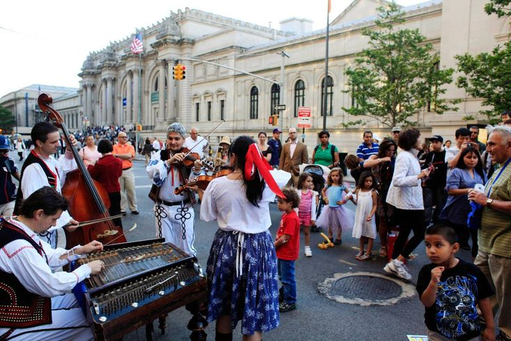 Seven of the country's top museums offer free admission during the annual Museum Mile festival. For more info, visit NYCgo.com.