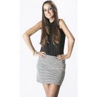 Falda Hilo Mecha http://aldetal.net/ebazar