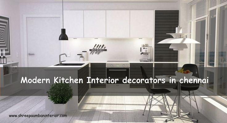 Modern Kitchen Interior decorators in Chennai #ModernKitchenInteriorDecoratorsInChennai #ShreePaambanInterior