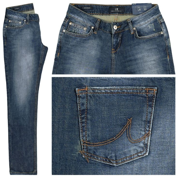 #Damen LTB Jeans Aspen middle blue used, 08694386647106