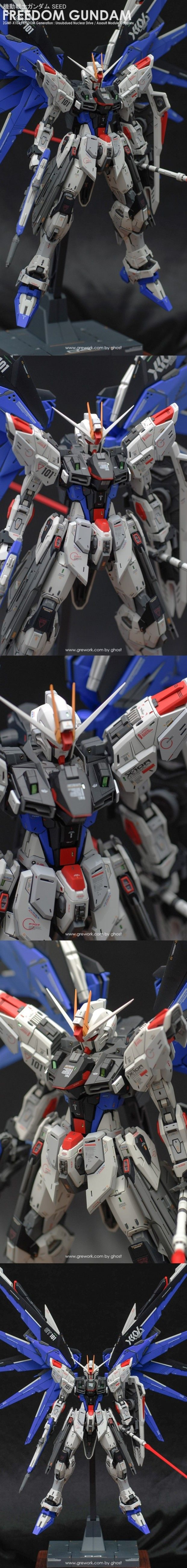 POINTNET.COM.HK - 高手作品 MG 1/100 Freedom Gundam ver 2.0