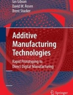 Additive Manufacturing Technologies: Rapid Prototyping to Direct Digital Manufacturing 2010th Edition free download by Ian Gibson David W. Rosen Brent Stucker ISBN: 9781441911193 with BooksBob. Fast and free eBooks download.  The post Additive Manufacturing Technologies: Rapid Prototyping to Direct Digital Manufacturing 2010th Edition Free Download appeared first on Booksbob.com.