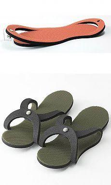 Início chinelos / padrão simples /