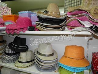 Ψάθινα καπέλα Lucas - Είδη Συσκευασίας