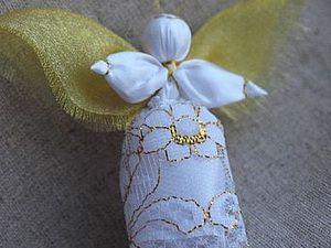 Создаем куклу-ангелочка «Добрый вестник»   Ярмарка Мастеров - ручная работа, handmade
