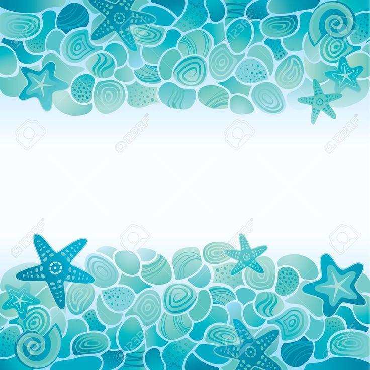 Dibujos de caracolas y estrellas mar buscar con google photocall pinterest mars - Fotos fondo del mar ...